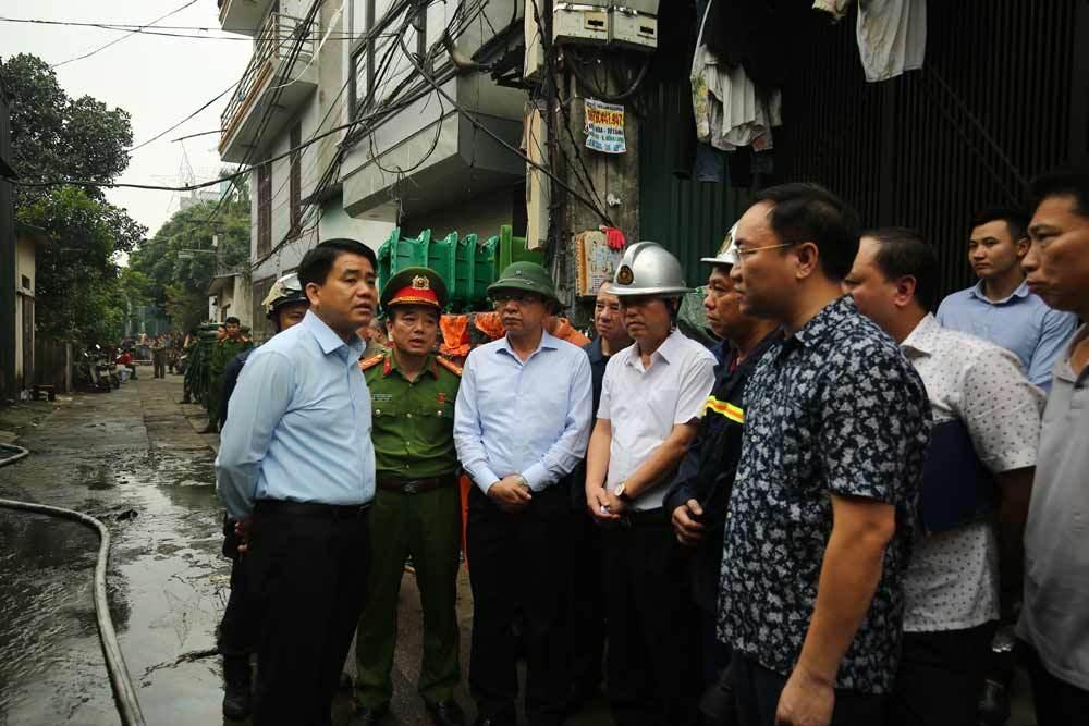 Hiện trường kinh hoàng vụ cháy nhà xưởng 8 người chết và mất tích ở Hà Nội - Ảnh 6