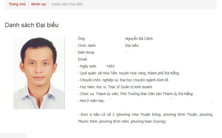 """""""Quan lộ"""" của ông Nguyễn Bá Cảnh trước khi mất hết các chức vụ trong Đảng - Ảnh 1"""