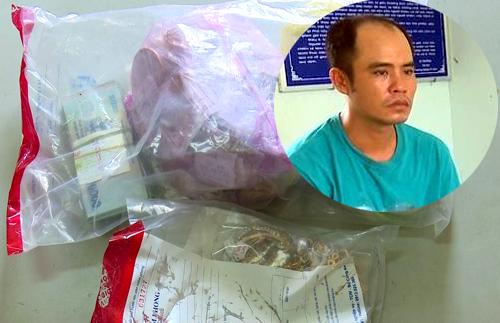Nam thanh niên giả gái mang kích điện xông vào tiệm vàng, cướp 500 triệu đồng - Ảnh 2