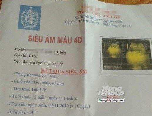 Vụ thầy giáo Lào Cai bị tố làm nữ sinh lớp 8 mang thai: Giám định ADN thai nhi - Ảnh 1