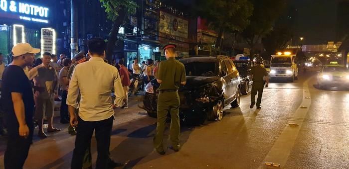 """Vụ """"xe điên"""" tông nữ lao công tử vong ở Hà Nội: Xác định danh tính tài xế - Ảnh 1"""