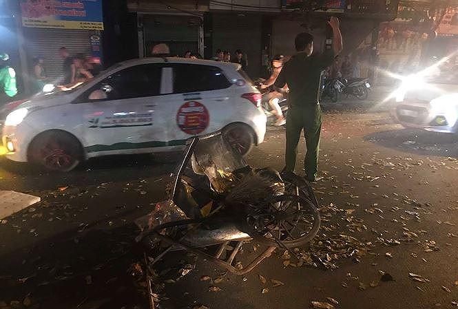 """Vụ """"xe điên"""" tông nữ lao công tử vong ở Hà Nội: Xác định danh tính tài xế - Ảnh 2"""