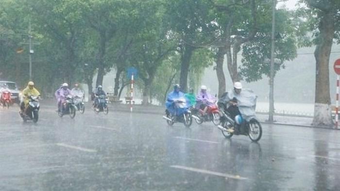 Dự báo thời tiết ngày 27/4: Hà Nội có mưa dông, Nam Bộ nắng nóng - Ảnh 1