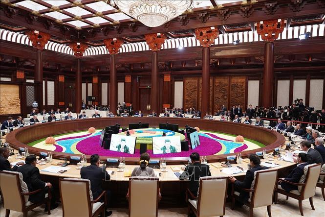 Thủ tướng dự Diễn đàn cấp cao hợp tác quốc tế 'Vành đai và Con đường' lần thứ hai - Ảnh 3