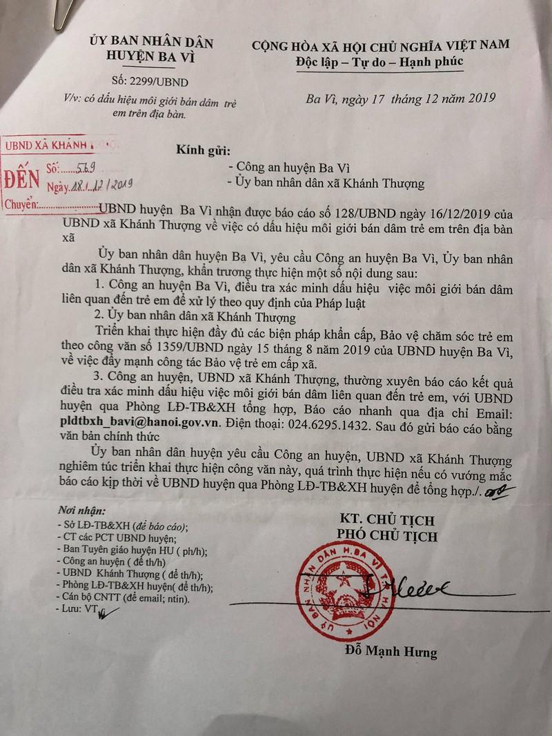 Công an điều tra đường dây môi giới, ép nữ sinh bán dâm ở Hà Nội - Ảnh 1