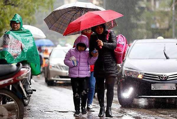 Tin tức dự báo thời tiết mới nhất hôm nay 17/1/2020: Miền Bắc trời rét, nhiều nơi có mưa - Ảnh 1