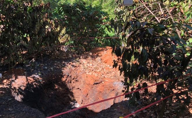 Điều tra vụ vợ phát hiện chồng chết cháy bí ẩn trong vườn tiêu ở Bình Phước - Ảnh 1