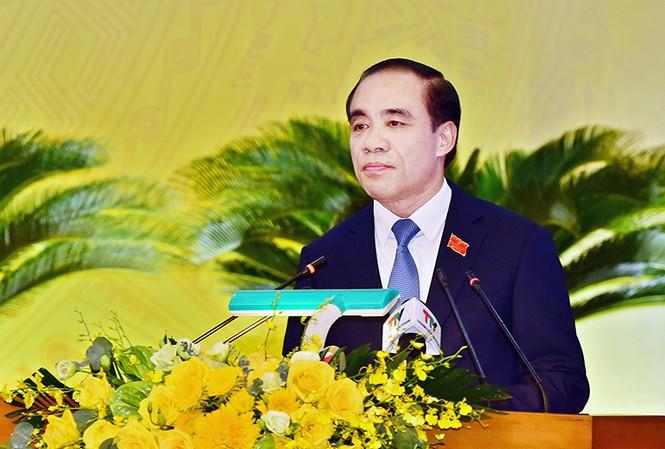 Ông Chẩu Văn Lâm tái đắc cử Bí thư Tỉnh ủy Tuyên Quang - Ảnh 1