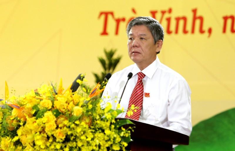 Ông Ngô Chí Cường được bầu giữ chức Bí thư Tỉnh ủy Trà Vinh - Ảnh 1