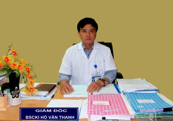 Vì sao Giám đốc bệnh viện Sản- Nhi Phú Yên bị cách chức - Ảnh 1