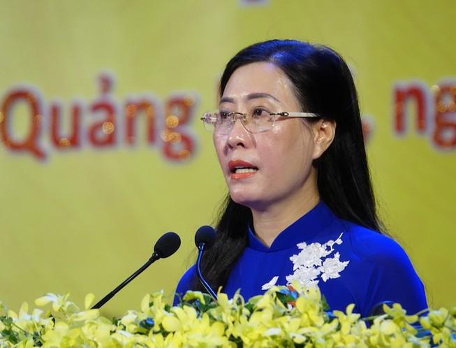Bà Bùi Thị Quỳnh Vân tái đắc cử Bí thư Tỉnh uỷ Quảng Ngãi - Ảnh 1