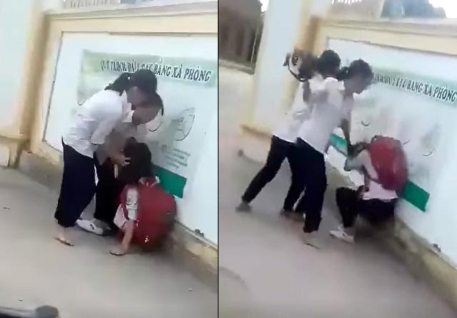 Vụ clip nữ sinh lớp 8 ở Nghệ An bị đánh hội đồng: Nhà trường lên tiếng - Ảnh 1