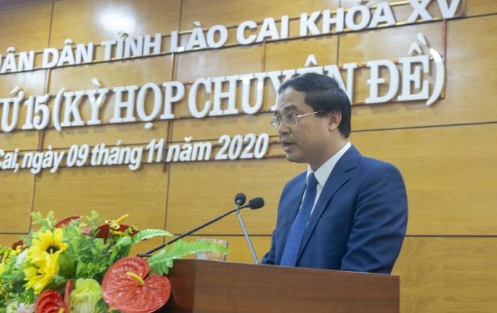 Tân chủ tịch UBDN tỉnh Lào Cai vừa được bầu là ai? - Ảnh 1