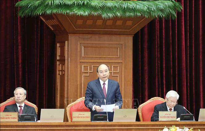 Hội nghị Trung ương 14 giới thiệu nhân sự tham gia Bộ Chính trị, Ban Bí thư khóa XIII - Ảnh 3