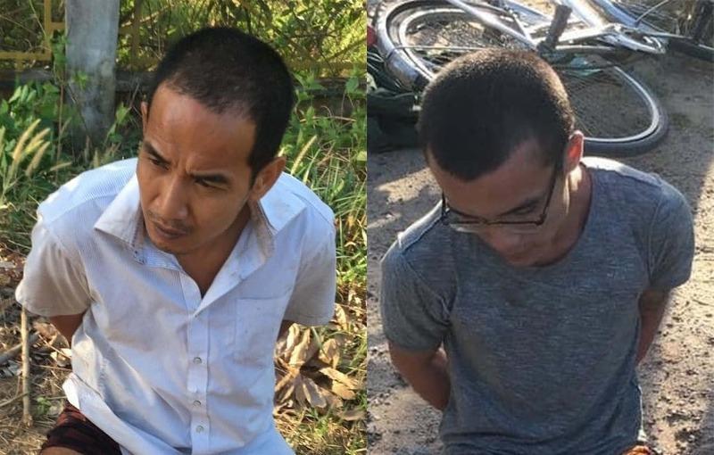 2 phạm nhân thụ án tội Giết người trốn trại bị bắt: Hé lộ hình ảnh đầu tiên của nghi phạm - Ảnh 1