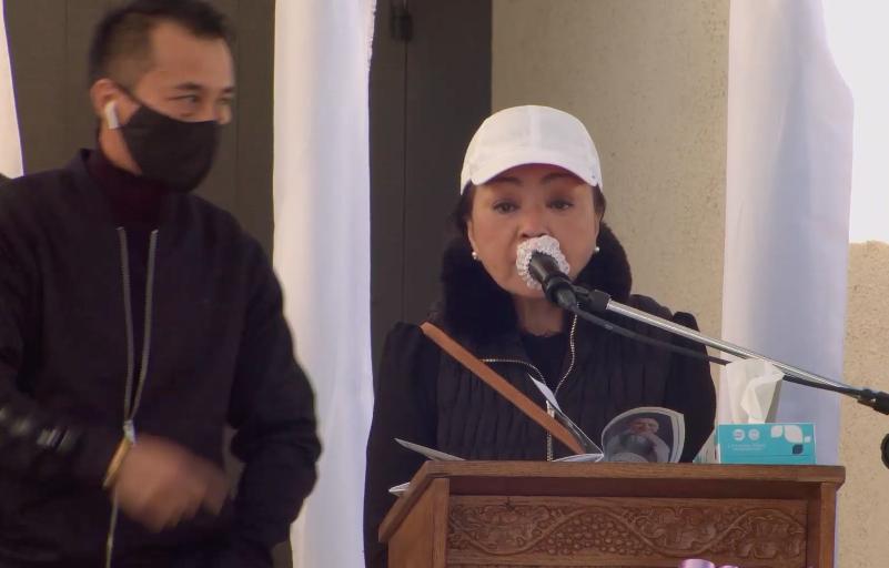 Những lời tiễn biệt đẫm nước mắt tại lễ tang nghệ sĩ Chí Tài ở Mỹ - Ảnh 2