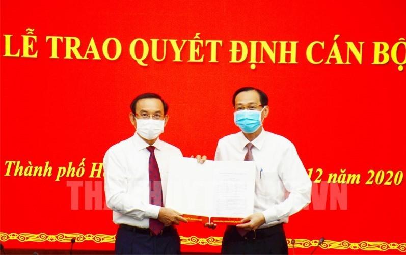 Chân dung tân Trưởng ban Nội chính Thành ủy TP.HCM Lê Thanh Liêm - Ảnh 1