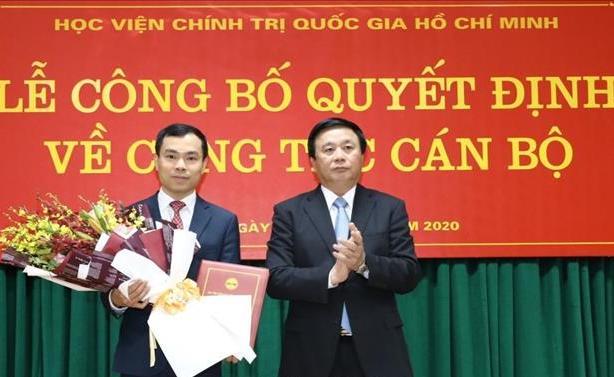 Ban Bí thư bổ nhiệm nhân sự 2 cơ quan Trung ương - Ảnh 4