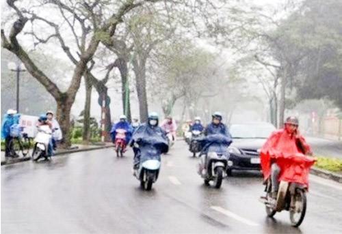Tin tức dự báo thời tiết mới nhất hôm nay 15/2/2020: Miền Bắc đón không khí lạnh, trời mưa rét - Ảnh 1