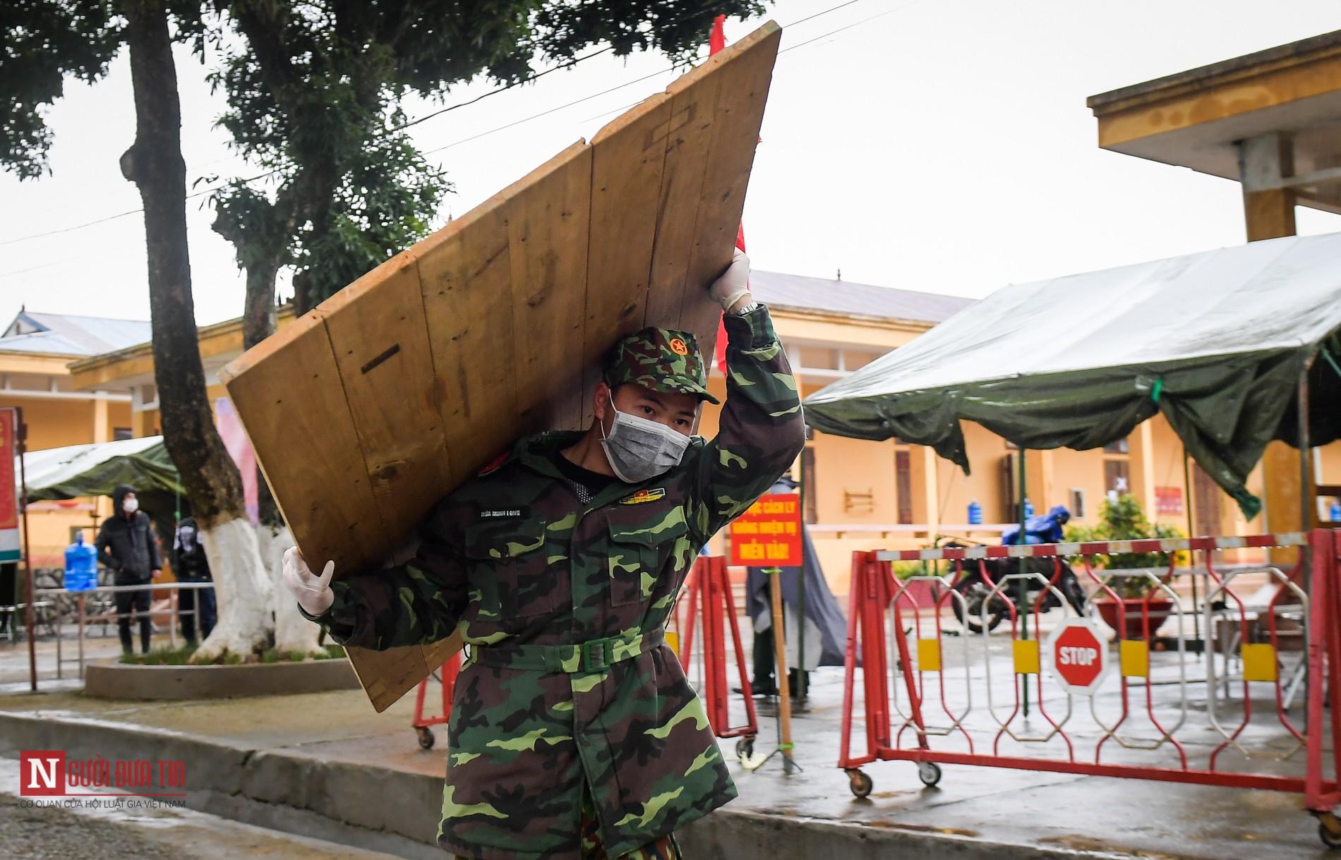Bên trong khu vực cách ly công dân Việt Nam trở về từ Trung Quốc - Ảnh 6
