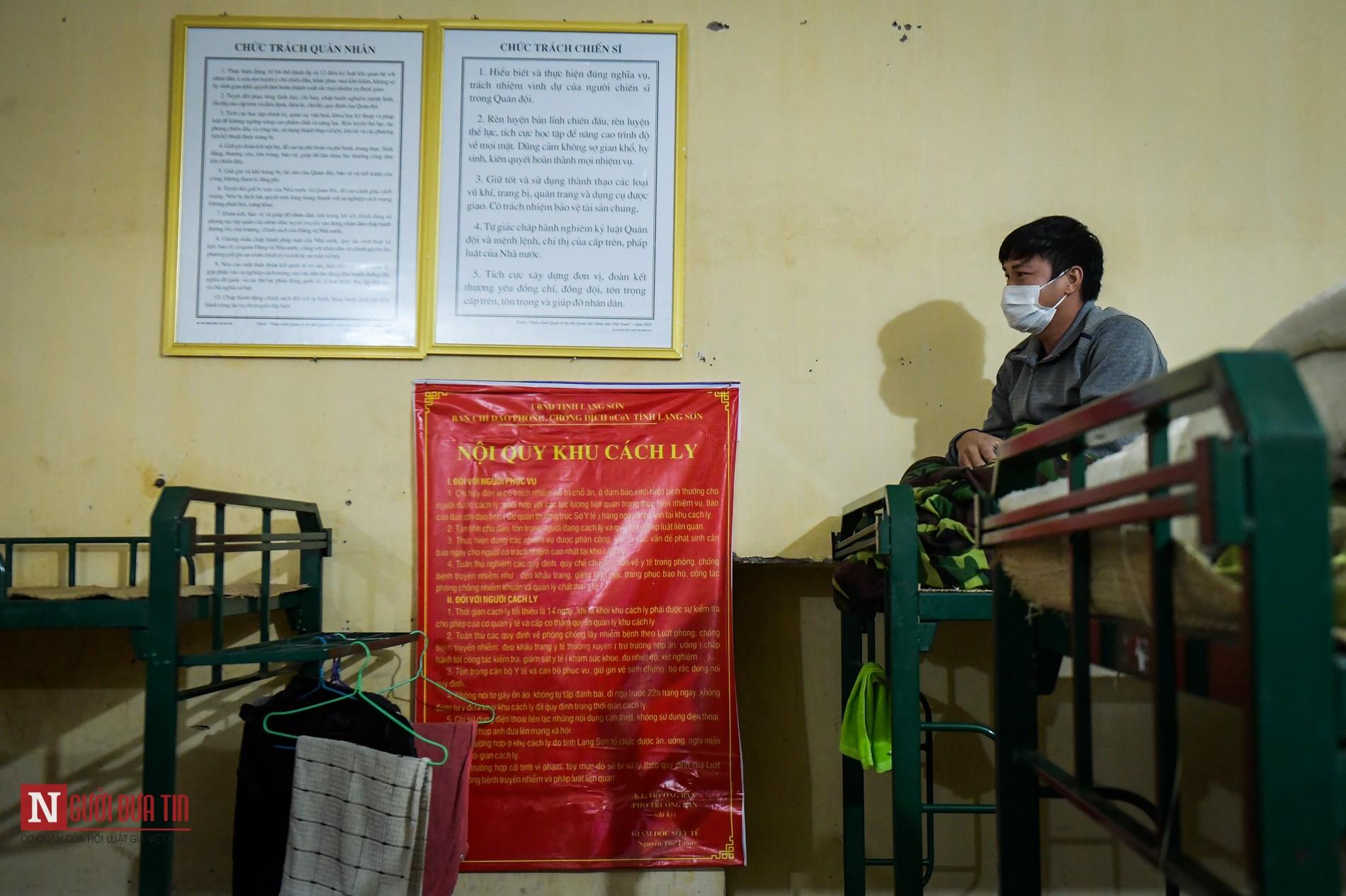 Bên trong khu vực cách ly công dân Việt Nam trở về từ Trung Quốc - Ảnh 9