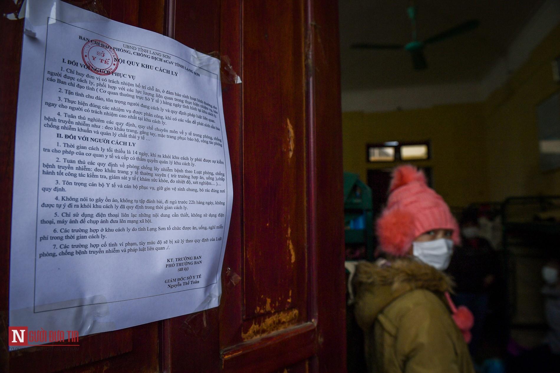 Bên trong khu vực cách ly công dân Việt Nam trở về từ Trung Quốc - Ảnh 12