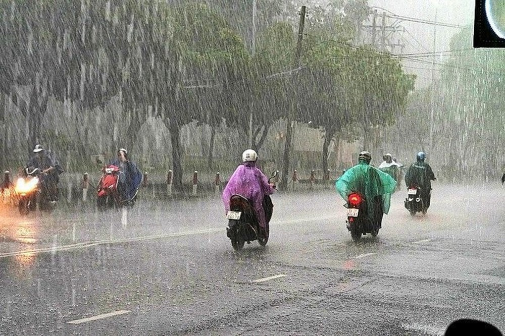 Tin tức dự báo thời tiết mới nhất hôm nay 24/3/2020: Hà Nội có mưa rào - Ảnh 1