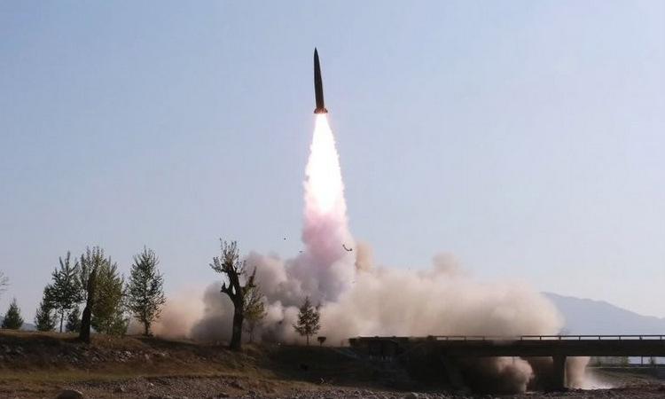 Hàn Quốc: Triều Tiên vừa phóng vật thể không xác định - Ảnh 1