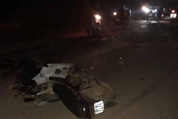 Truy tìm xe tải gây tai nạn chết người rồi bỏ chạy ở Bắc Giang - Ảnh 1