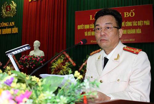 Bổ nhiệm Giám đốc Công an Khánh Hòa làm Cục trưởng Cục Công nghiệp an ninh - Ảnh 1