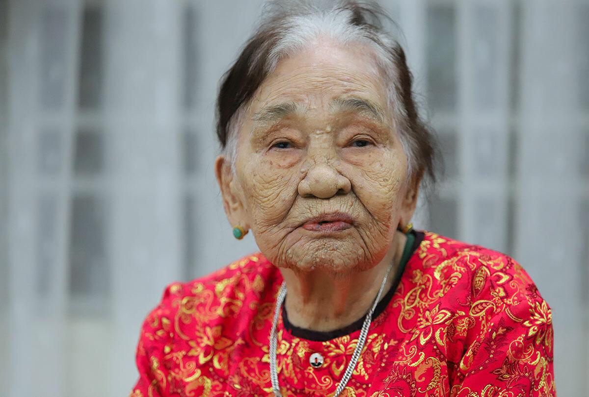 Cụ bà 101 tuổi ủng hộ 2 tấn gạo chống dịch Covid-19 - Ảnh 1