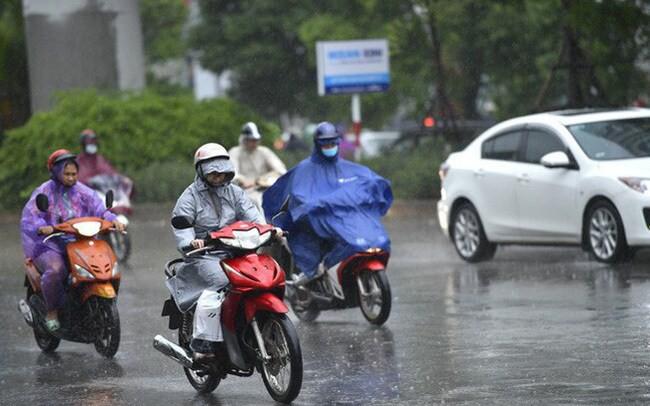 Miền Bắc đón không khí lạnh, đêm nay Hà Nội có mưa dông - Ảnh 1