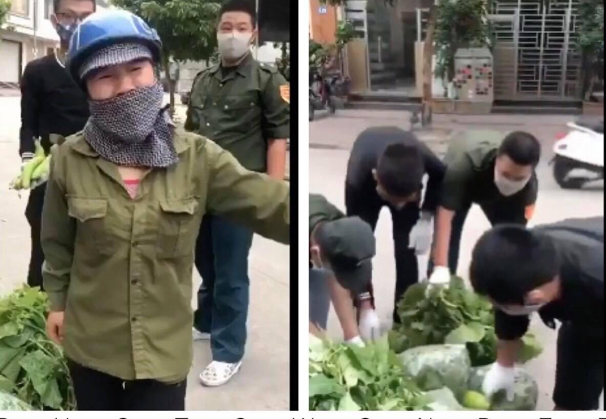 """Nữ phó chủ tịch phường giải thích về việc """"xúc phạm"""" chị bán rau - Ảnh 1"""