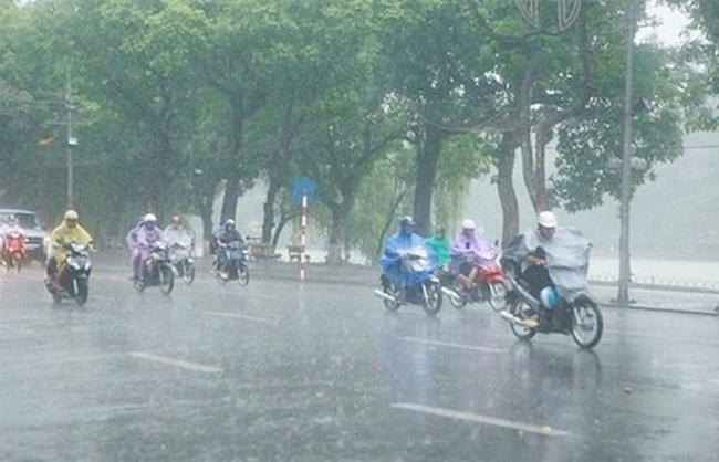 Tin tức dự báo thời tiết mới nhất hôm nay 24/4/2020: Miền Bắc mưa dông diện rộng - Ảnh 1