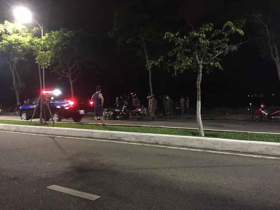 Hiện trường vụ 2 cảnh sát Đà Nẵng hy sinh khi truy bắt cướp và đua xe - Ảnh 2