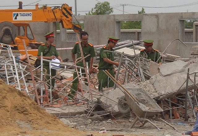 Vụ sập tường 10 người chết ở Đồng Nai: Dừng thi công 1 tuần các công trình tương tự - Ảnh 1