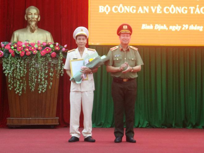 Bổ nhiệm Đại tá Võ Đức Nguyện giữ chức Giám đốc Công an tỉnh Bình Định - Ảnh 1