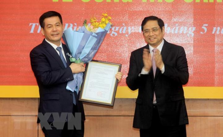 Điều động Bí thư tỉnh Thái Bình Nguyễn Hồng Diên làm Phó Ban Tuyên giáo Trung ương - Ảnh 1