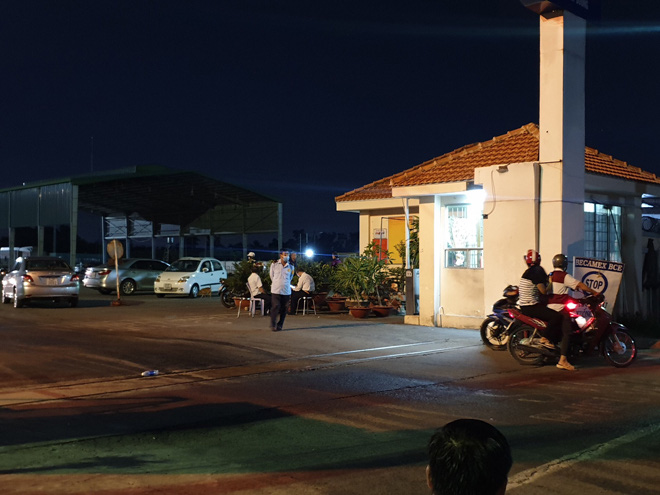 Phát hiện nam bảo vệ tử vong trong nhà vệ sinh tại bãi xe Chi cục Hải quan - Ảnh 1