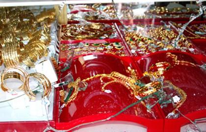 """Công an truy tìm 25 lượng vàng có ký hiệu """"đặc biệt"""" bị đánh cắp tại tiệm vàng ở TP.HCM - Ảnh 1"""