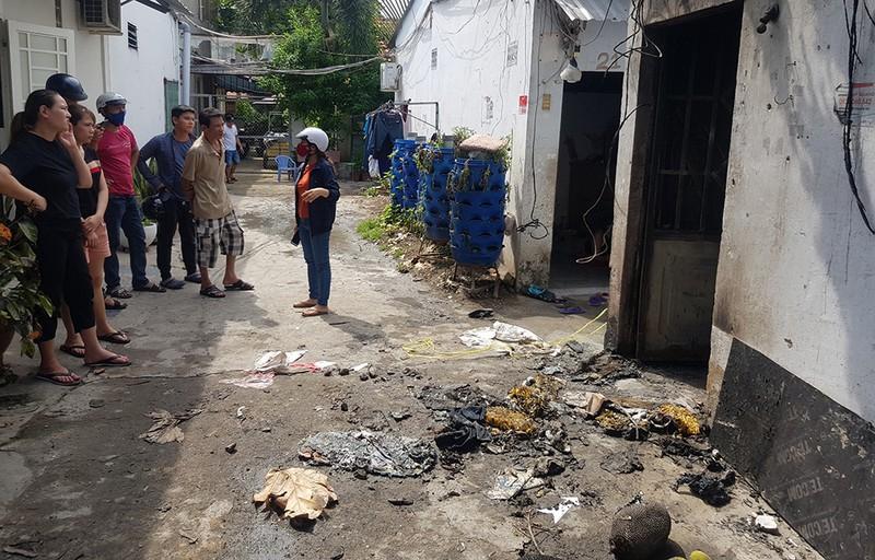 Bắt nghi phạm phóng hỏa khiến 3 người chết thảm trong phòng trọ ở TP.HCM - Ảnh 1