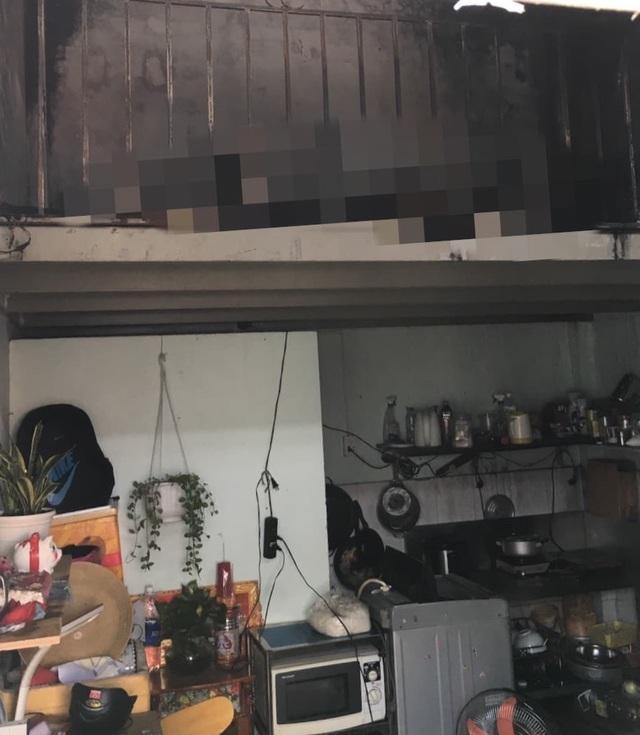 Vụ cháy nhà trọ, 2 cha con tử vong: Hàng xóm tiết lộ bất ngờ - Ảnh 1