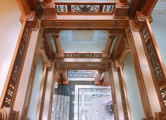 """Choáng ngợp với tòa """"lâu đài"""" 7 tầng, rộng 3 ha của """"đại gia sân golf"""" ở Nam Định - Ảnh 10"""
