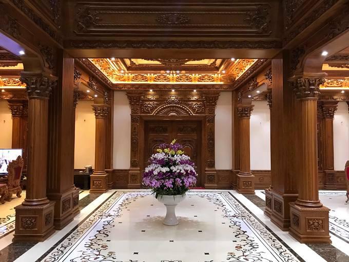 """Choáng ngợp với tòa """"lâu đài"""" 7 tầng, rộng 3 ha của """"đại gia sân golf"""" ở Nam Định - Ảnh 9"""