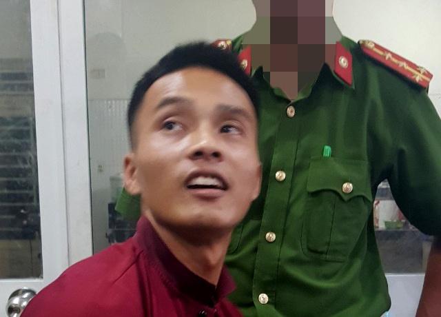 Hình ảnh lạ của phạm nhân giết người Triệu Quân Sự khi bị bắt tại quán game - Ảnh 1