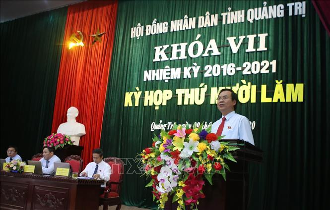 Ông Võ Văn Hưng đủ tiêu chuẩn, điều kiện làm Phó Bí thư Tỉnh ủy, Chủ tịch UBND tỉnh Quảng Trị - Ảnh 1
