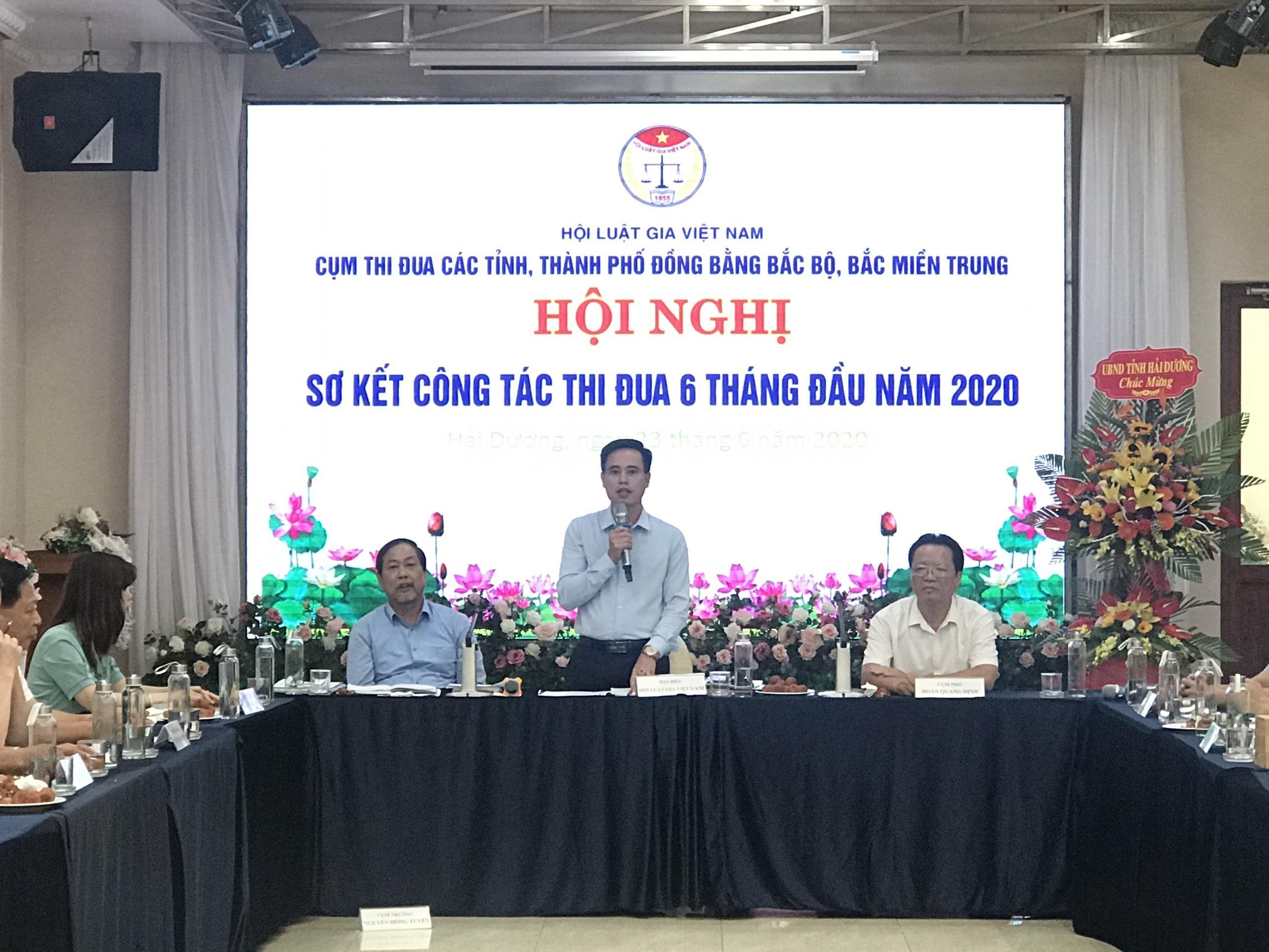 Hội nghị sơ kết Cụm thi đua hội Luật gia các tỉnh đồng bằng Bắc Bộ và Bắc Miền Trung - Ảnh 2