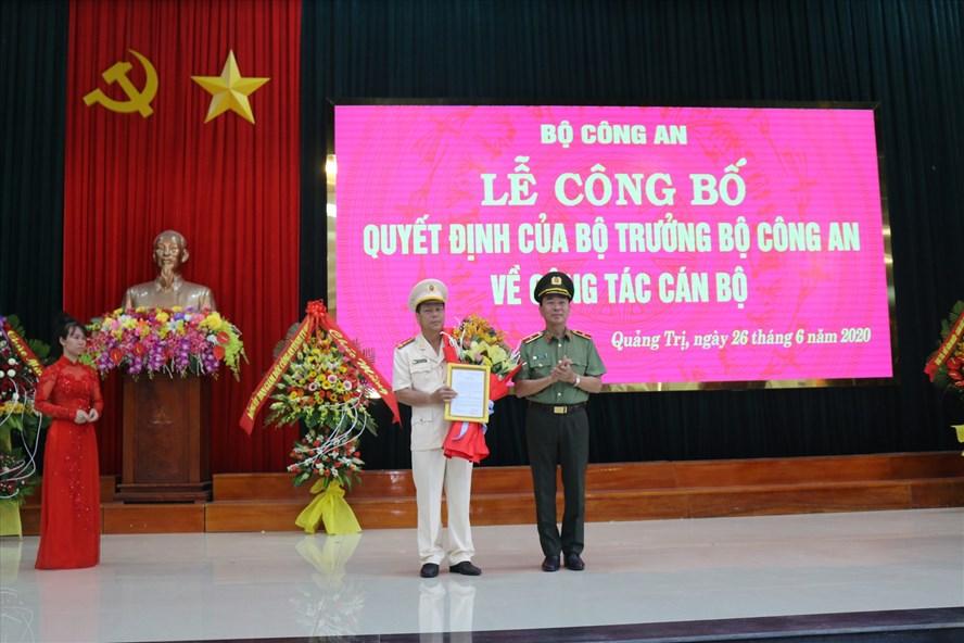 Phó giám đốc Công an Thừa Thiên Huế được bổ nhiệm làm Giám đốc Công an Quảng Trị - Ảnh 1