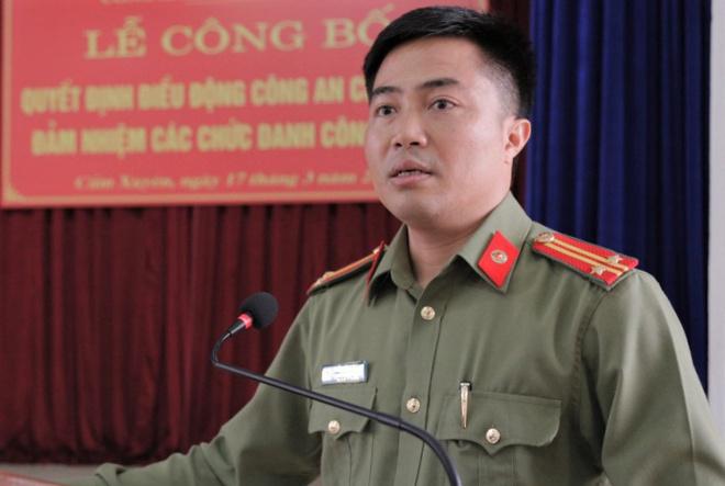 Một trung tá công an ở Hà Tĩnh bị kỷ luật cảnh cáo - Ảnh 1