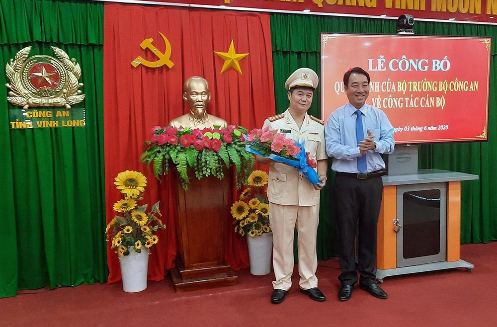 Vĩnh Long có tân Phó giám đốc Công an tỉnh 44 tuổi - Ảnh 1